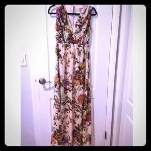 Long flower dress from Ted Baker.